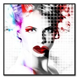 Cuadro Tríptico  mujeres POP ART