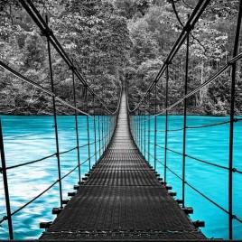 Cuadro de Puente Colgante