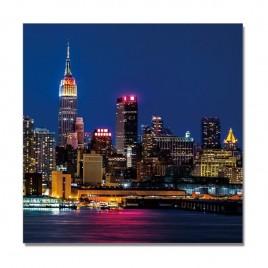Cuadro Tríptico  Manhattan Night