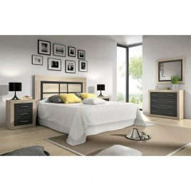 DORMITORIO MODELO LARA COLOR CAMBRIAN GRAFITO