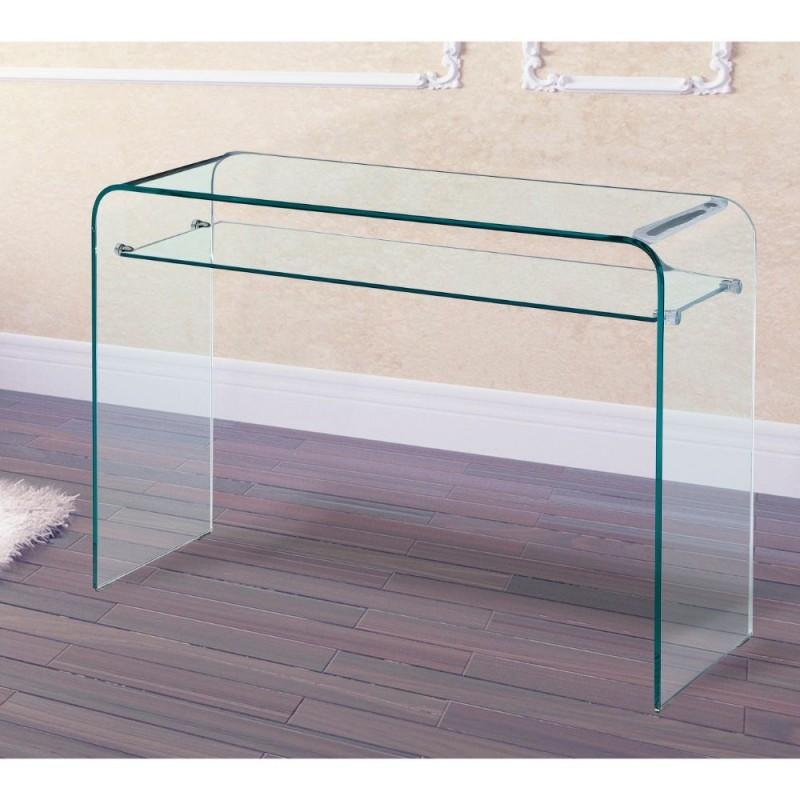 Mesa de cristal Fija modelo Edimburgo
