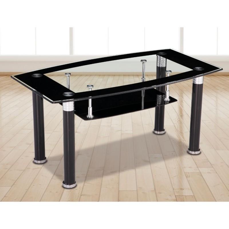 Mesa de centro de cristal Modelo Loira